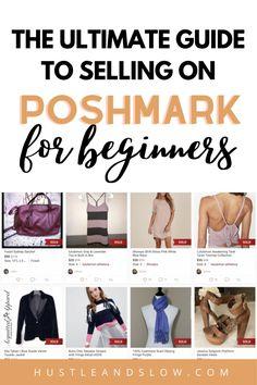 Selling Online, Selling On Ebay, Make More Money, Make Money Online, Earn Money, How To Sell Clothes, Selling On Poshmark, How To Sell On Poshmark, Making Ideas