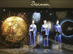 """GALERIES LAFAYETTE, Paris, France, """"Dior Moon"""", photo by Leelawan S., pinned by Ton van der Veer"""