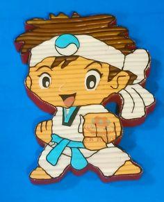 Tarta golosinas Karateka