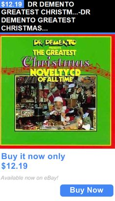 Christmas Songs And Album: Dr Demento Greatest Christm...-Dr Demento Greatest Christmas Novelty Cd / Cd New BUY IT NOW ONLY: $12.19