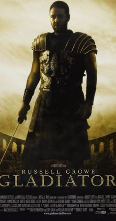 Directed by Ridley Scott.  With Russell Crowe, Joaquin Phoenix, Connie Nielsen, Oliver Reed. When a Roman general is betrayed and his family murdered by an emperor's corrupt son, he comes to Rome as a gladiator to seek revenge.