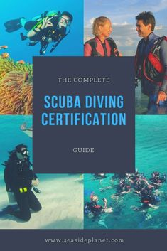 How To Get Scuba Certified: The Complete Guide Scuba Diving Courses, Scuba Diving Equipment, Best Scuba Diving, Scuba Diving Gear, Cave Diving, Patagonia, Scuba Diving Certification, Diving School, Travel Usa