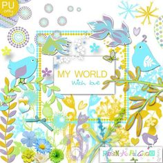 Scrapbooking TammyTags -- TT - Designer - Regina Falango,  TT - Item - Kit or Collection, TT - Kit Name - My World with Love