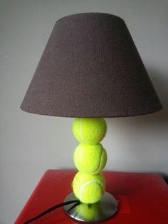 Tennis.. love my new lamp :) happy