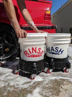 Wash bucket decal / car wash decal/ bucket decal/ wash rinse wheels/ detailing decal/ vinyl decal/ c Car Wash Business, Cleaning Business, Detail Car Cleaning, Car Detail Shop, Car Wash Tips, Car Decals, Vinyl Decals, Car Detailing Supplies, Home Depot