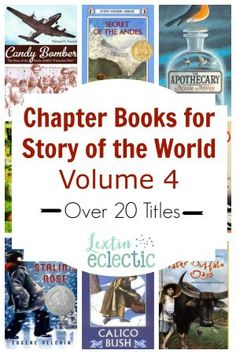 I made a picture book list to correspond to Volume 4 of Story of the World for my 1st and 2nd graders who will be joining us for history time. However, I also have a 4th grader to think about. She will love all the wonderful picture books but she willRead more