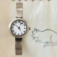 Cat arm-watch