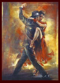"""Pedro Alvarez """"Tango ! Tango ! Dans ses veines circulent les pleurs des violons Dans son cœur bat la voix du bandonéon Son corps de peintre, pour sa déesse un pinceau Qui devient par ses étreintes un sublime tableau"""" Estela Bartoli Francis Grenet Maria..."""