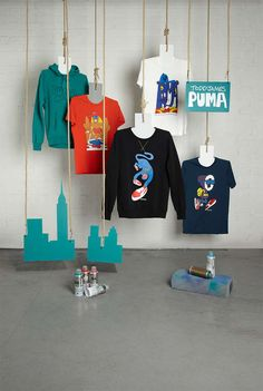 The PUMA x Todd James Fall/Winter 2013 Collection is Cartoon-Clad #Fashion #Art trendhunter.com