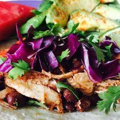 Budget Tacos Shredded Rotisserie Chicken and Blackbeans HP