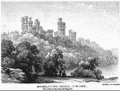 Mitchelstown Castle - Old drawing