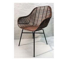 Karmstol Brun Rotting Outdoor Chairs, Outdoor Furniture, Outdoor Decor, Wicker, Home Decor, Houses, Brown, Decoration Home, Room Decor