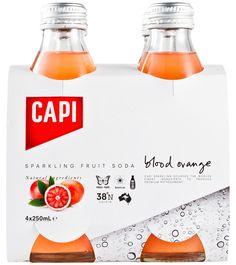 Packaging of the World: Creative Package Design Archive and Gallery: Capi Sparkling