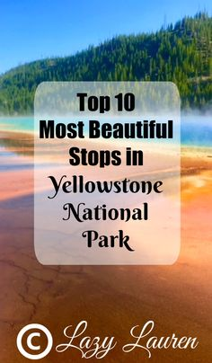 Planning a trip to Yellowstone National Park? Here are the top 10 must-see stops in Yellowstone. Usa Roadtrip, Roadtrip Europa, Travel Usa, Travel Tips, Travel Ideas, Travel Advisor, Travel Hacks, Luxury Travel, Budget Travel