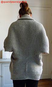 Ravelry: Veste Patience pattern by Cloé Jeseraigrande