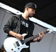 Linkin Park Mike Shinoda 2 at Vans Warped Tour June 22 2014 by Scott Dudelson photo