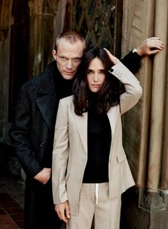 Paul Bettany and Jennifer Connelly, photographed in New York City's Central Park. Photograph by Theo Wenner; Styled by Jessica Diehl.