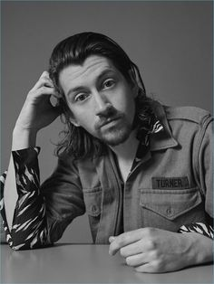 Singer Alex Turner stars in a new photo shoot for Icon El País.