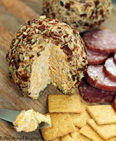 "This is a basic cheeseball recipe. To get to the recipe, click ""Cheeseball"" under ""Appetizers"""