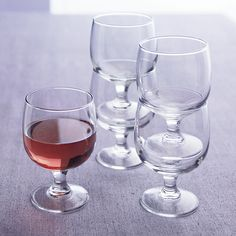 Shop Eddy 11 oz. Everyday  Stacking Glass. Low-profile wine glasses stack neatly for bar, buffet or storage; clean up in the dishwasher.