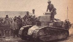Japanese Renault tank in Manchuria, circa Sep-Oct 1931 Ww1 Tanks, World Of Tanks, Army & Navy, Interesting History, Panzer, Armored Vehicles, Military History, World War Two, Historical Photos