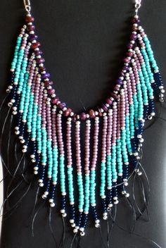 PRICE REDUCED Native American necklace in by MontanaTreasuresbyMJ