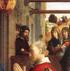 Monforte Altarpiece (detail) : GOES, Hugo van der : Art Images : Imagiva