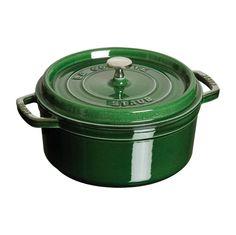 Staub Cookware Round Dutch Oven - 5QT - Basil