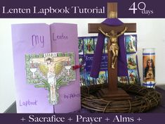 Lenten Lapbook - Stations of the Cross Cards