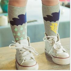 Cute Cotton Cartoon Long Socks  Would you like it for your little one? :)