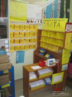 Ταχυδρομείο Learning Centers, Teaching, Holiday Decor, Education, Onderwijs, Learning, Tutorials