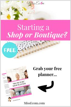 Starting an online shop, boutique, or business with Shopify, Etsy, or WooCommerce without a business plan can be tough. The planner walks you through things to consider so you don't have to worry about where the sales will come from. Tips, ideas, checklist for your store are included.