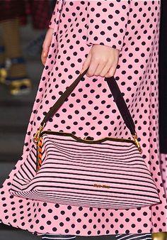 Miu Miu - pretty in pink polka dots