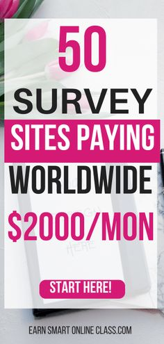 Are you an international user or reader looking for paid survey sites that pay worldwide? This list of 50 best international paid survey sites will get you started! These are global paid surveys that will help you make money internationally. by Read Surveys That Pay Cash, Online Surveys For Money, Earn Money Online, Make Money Blogging, Earning Money, Online Income, Money Tips, Make Money Taking Surveys, Online Survey Sites