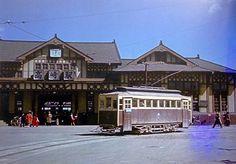 伊香保電車ー高崎駅(1953)