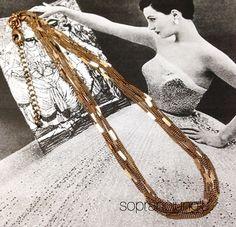vintageチェーンネックレス