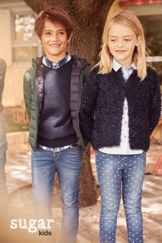 """Biel & Rose from Sugar Kids for Lefties """"Back to School"""" fall 2016"""