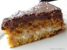 Постный торт с коксовым и шоколадным кремом.ПОСТ!!!