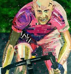 #HAAKSBERGEN - Commission job : Pantani by Jorien Stel Paper-Art