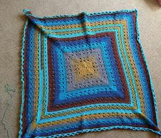 Ravelry: gjacka's Lunar Crossings Square Blanket