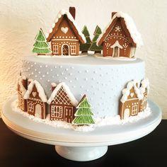 Christmas Party Food, Christmas Cakes, Scandinavian Christmas, Christmas Baking, Christmas Recipes, Christmas Time, Disney Princess Birthday Cakes, Cupcake Cakes, Cupcakes