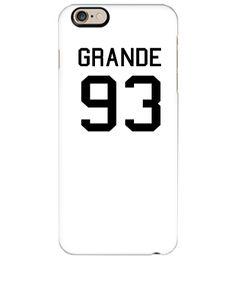 Ariana Grande 93 black - iphone 6 Plus Case