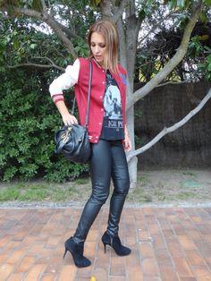 Eleven Paris, Zara Kids, G Man, Leather Fashion, Leather Pants, Sexy Women, Baseball, Iggy Pop, Womens Fashion