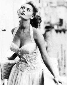 Sophia Loren in Venice, 1955