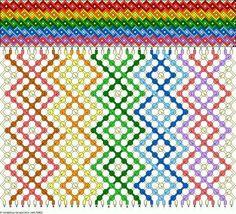 Floss Bracelets, Bff Bracelets, Macrame Bracelets, Diy Bracelets With String, String Bracelet Patterns, Macrame Patterns, Weaving Patterns, Diy Friendship Bracelets Patterns, Bracelet Tutorial