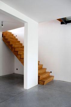 Joachim Pevenage Architecten  #stairs #interior #wood