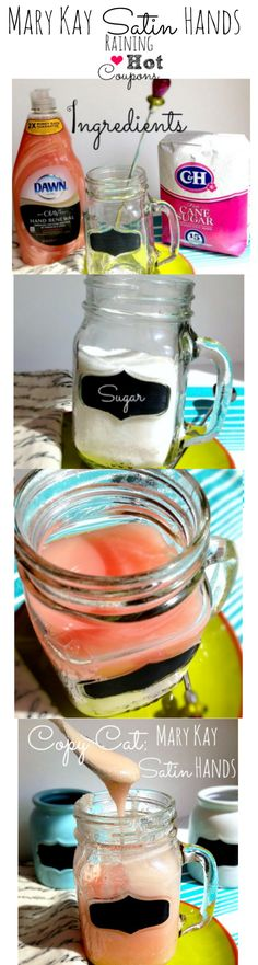 Mary Kay Satin Hands Copy Cat Recipe (Only 2 Ingredients!)