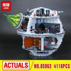 2017 New 4116Pcs Lepin 05063 Genuine Star  UCS Death Rogue Star   One Set Building Blocks Bricks Educational Toys 79159 War wars #Affiliate