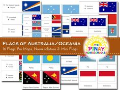 Flags of Australia / Oceania