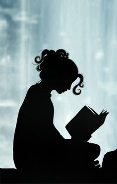 Girl reading book, i love reading, bypass surgery, book themes, world of I Love Books, Good Books, Books To Read, My Books, Woman Reading, Girl Reading Book, Happy Reading, Silhouette Art, Heroes Of Olympus
